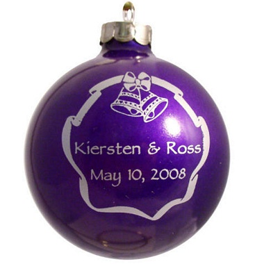 christmas wedding favors ornaments