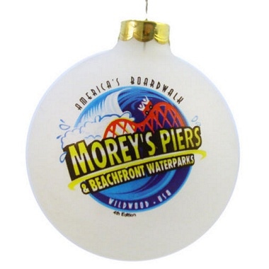Click here for additional designs of Glass Fundraiser Ornaments