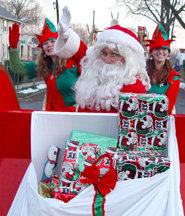 fundraising Santa Claus