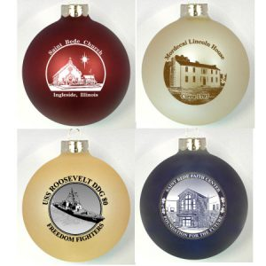 Custom Glass Ornaments for Fundraising Events