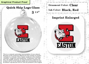 High School Fundraising Ornaments