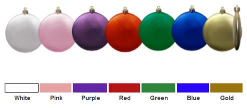 custom ornament colors