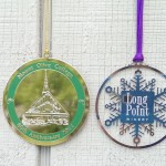 Wood and Brass Christmas Ornaments Custom
