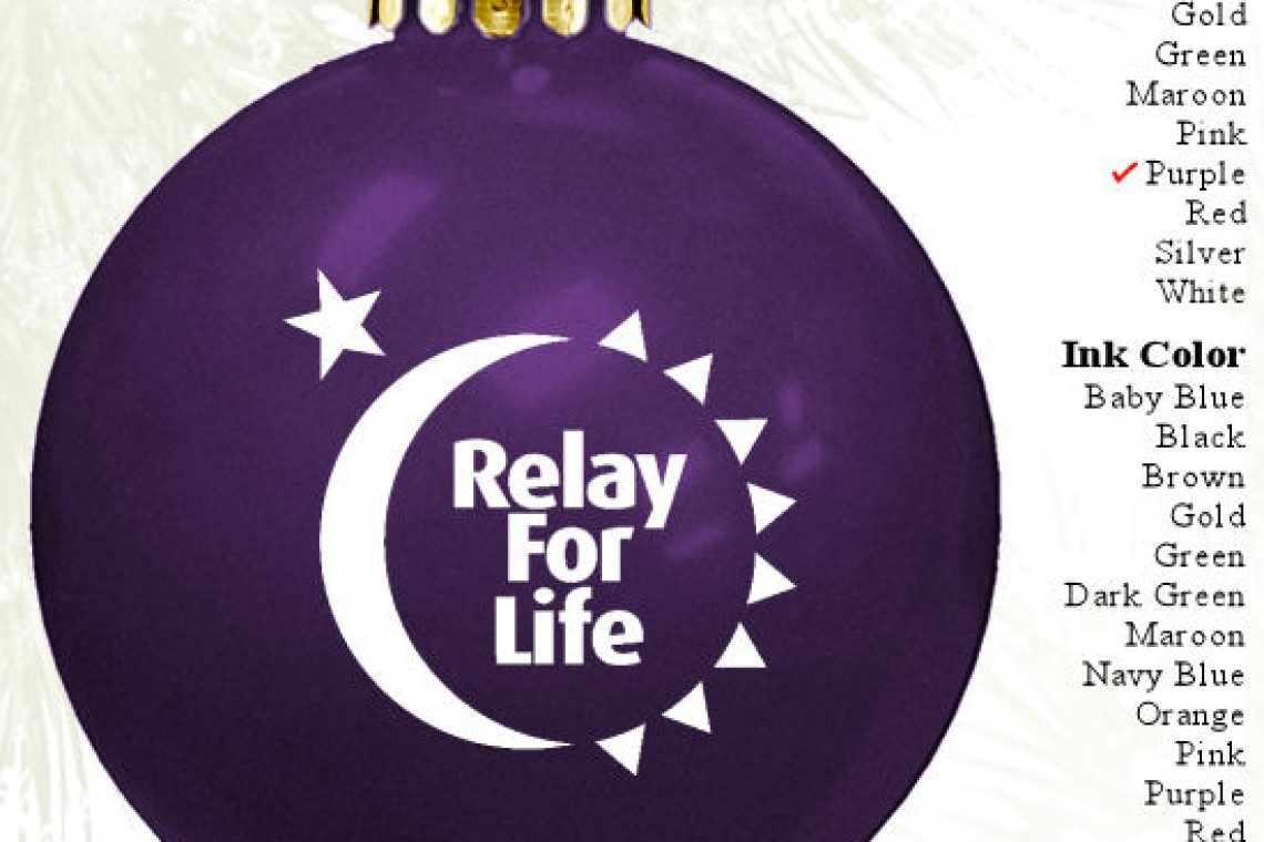 Relay For Life Non Profit Fundraising Christmas