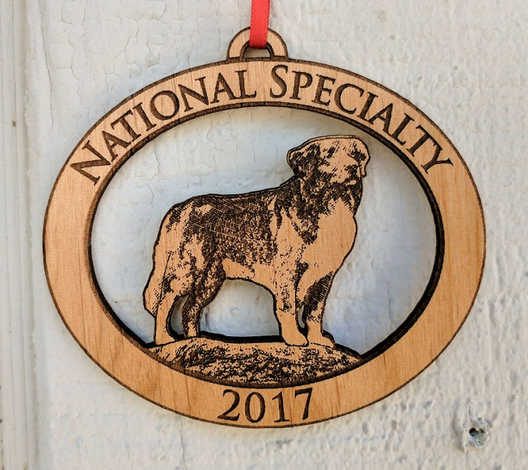 National Specialty 2017 Custom Wood Ornament